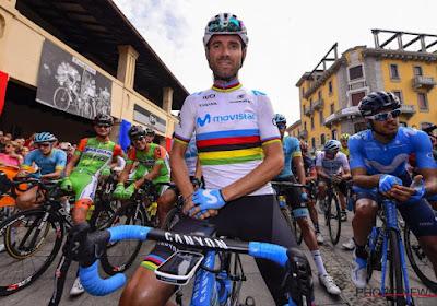 Valverde n'est pas encore prêt à lâcher son vélo