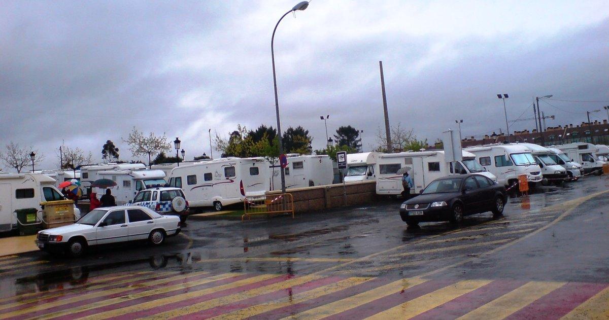 MILLADOIRO, área de autocaravanas, A Coruña.JPG