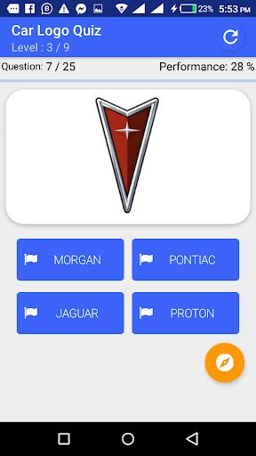 My Passion Car- Logo Quiz Game 2.7 screenshots 4