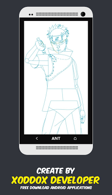 How to Draw Anime Naruto - screenshot