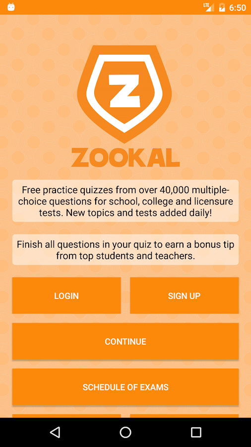 Zookal: Free Practice Reviewer- screenshot