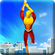 Super Flying Spider Rope Hero: City Rescue Mission