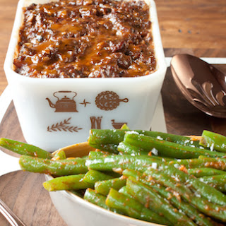 Practical Magic Meatloaf and Green Beans