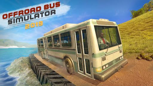 Hors route conduite Bus Simulator 2019:Jeux 3D Bus  captures d'écran 1