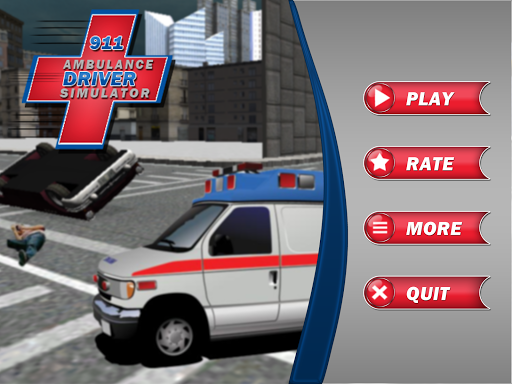 911 Ambulance Driver Simulator