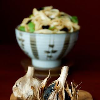 Black Garlic Noodle