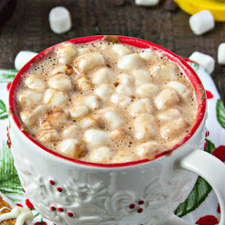 Peanut Butter Hot Chocolate.