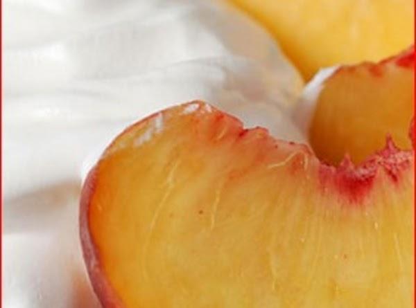 Peaches And Cream Pie Recipe