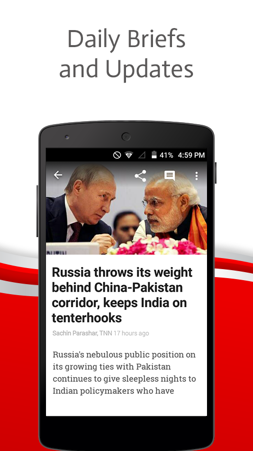 Screenshots of News by The Times of India for iPhone