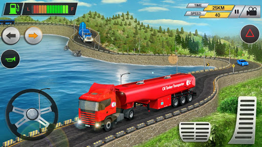 Offroad Oil Tanker Transport Truck Driver 2019 2.1 screenshots 1