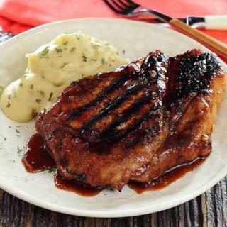 Saucy Grilled Paleo Pork Chops