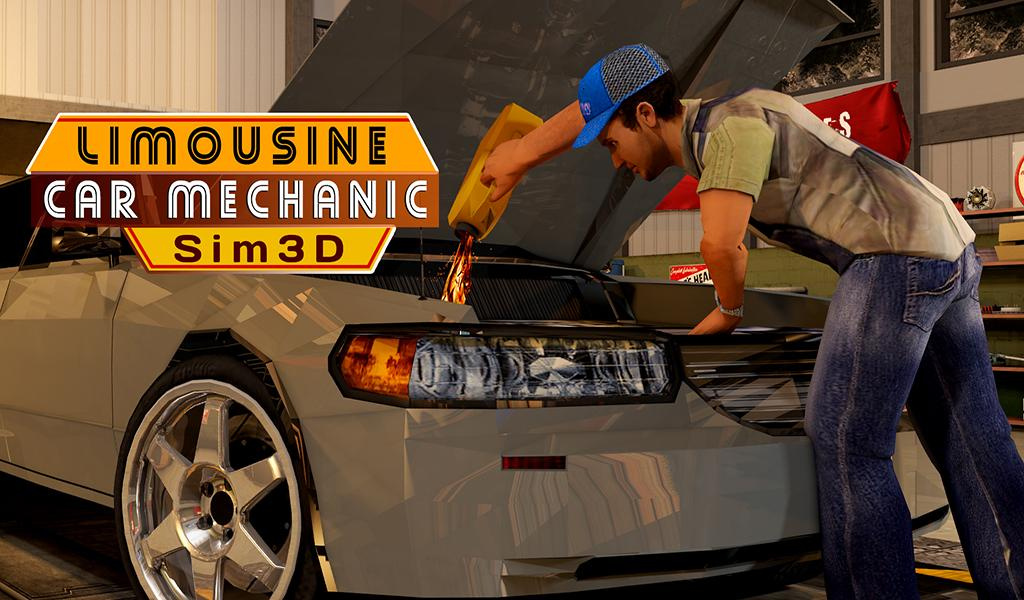 Limousine Car Mechanic 3d Sim Android Apps On Google Play