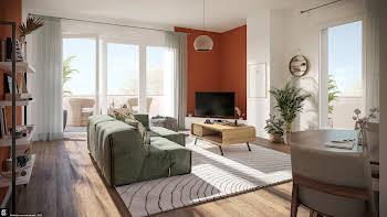 Appartement 3 pièces 62,61 m2