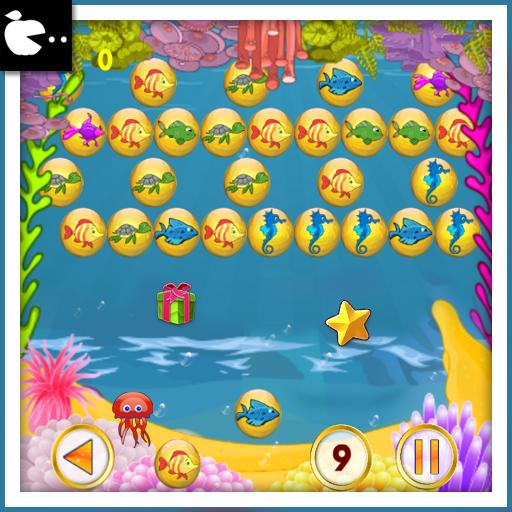泡泡射擊 - 魚的故事 休閒 App LOGO-APP試玩