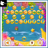 Bubble Shooter Fish Story