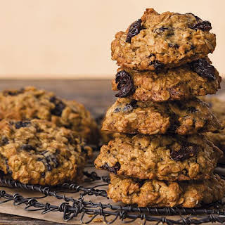 Olive Oil Oatmeal Cookies with Dried Cherries.