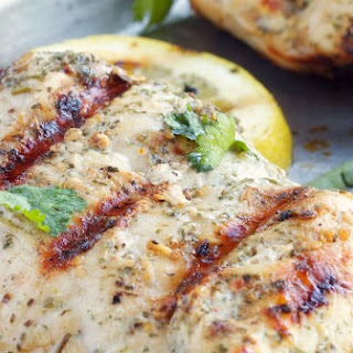 White Wine and Herb Marinated Chicken