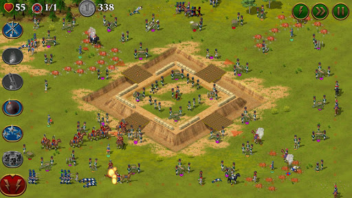 Code Triche 1812. Napoleon Wars TD Tower Defense strategy game APK MOD (Astuce) screenshots 3