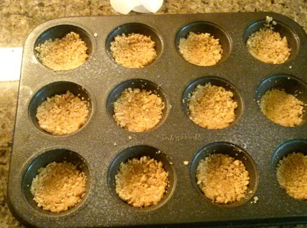 combined graham crackers sugar and butter mix well combined press into bottom of a...
