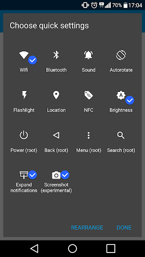 Edge Launcher screenshot 4