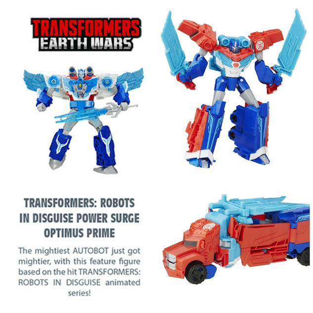 Hot Hasbro Toys - Transformers: Robots in Disguise Power Surge Optimus Prime