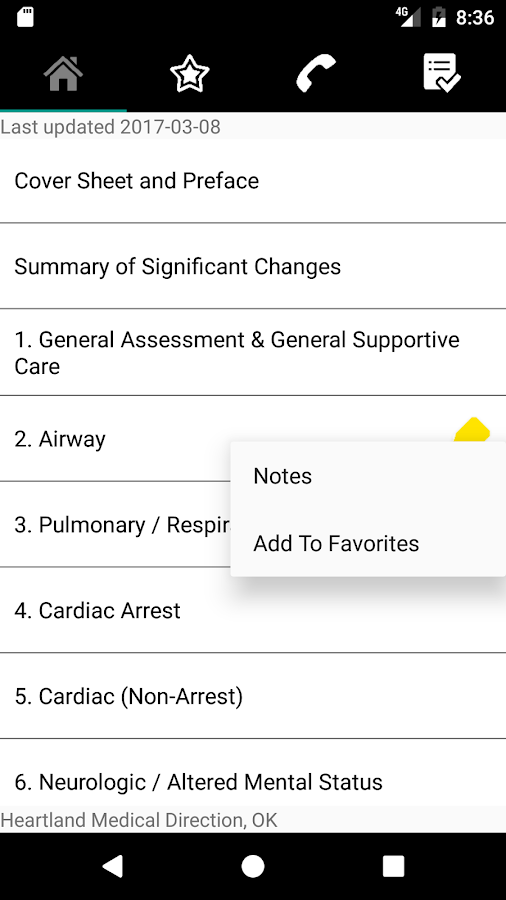 Heartland Medical Direction- screenshot