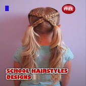 School Hairstyles Designs