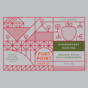 Logo of Fort Point Strawberry Darling