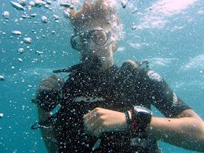 Photo: Dive leader Bas