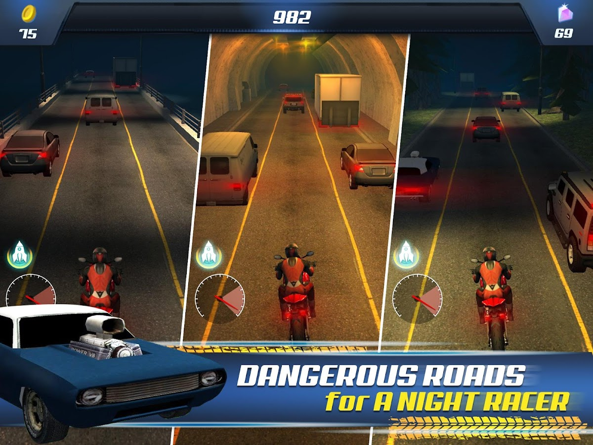 Night Racer- screenshot