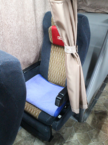 南海バス「サザンクロス」酒田線 ・477 シート