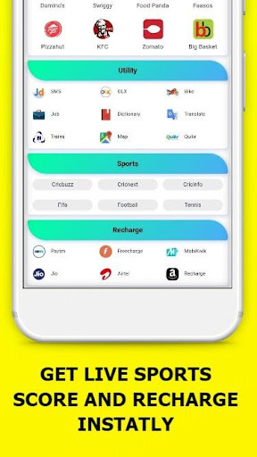 All In One Social Media,News,Sports,Shopping App 15.0.0 screenshots 5