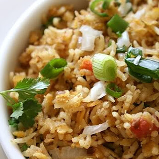Masoor dal Pulao (Red Lentil Rice) by DK on Oct 20, 2010.