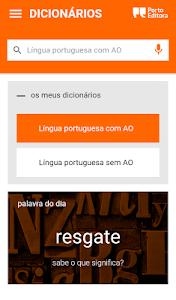 Dicionário Língua Portuguesa 3.4.06