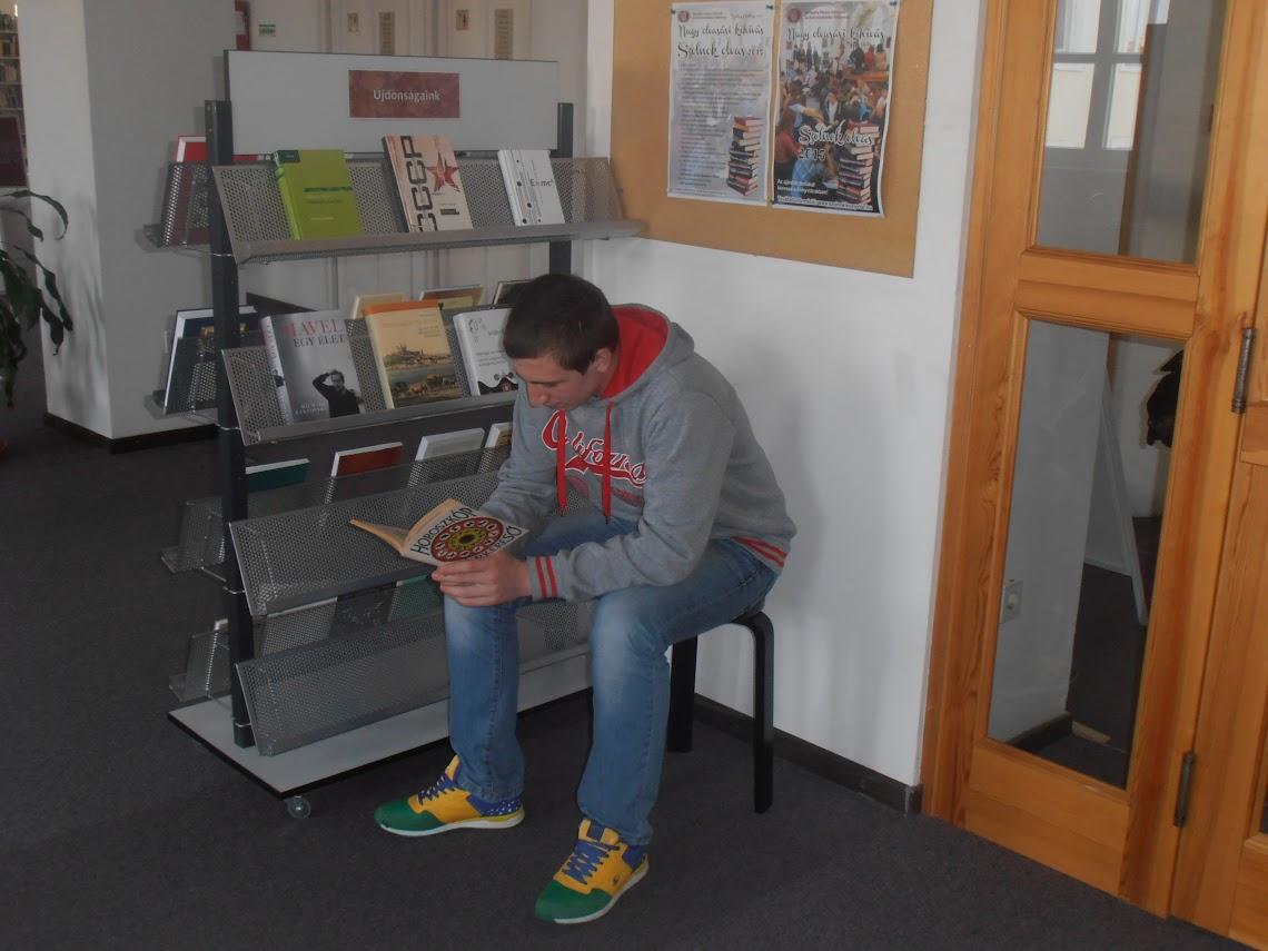 Egy olvasó diák