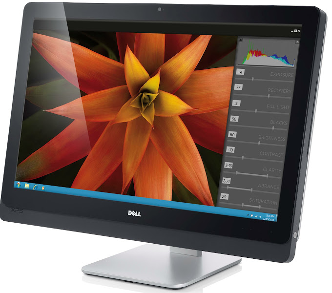 Photo: Dell XPS One 27 all-in-one Ivy Bridge desktop computer that Dell launched on 5-29-2012.