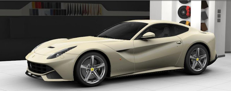 Photo: F12berlinetta - Car Configurator: Avorio The design of the F12berlinetta, the spearhead of a new generation of Prancing Horse 12-cylinders, is based on perfect balance, highest aerodynamic efficiency and elegant proportions. To underline the innovative style the body is dressed in special colours. What do you think of Avorio, a legendary Ferrari colour?  Configure the new Berlinetta from Maranello, download the wallpaper and share with your friends! Click here for personalisation: http://bit.ly/KMct2n