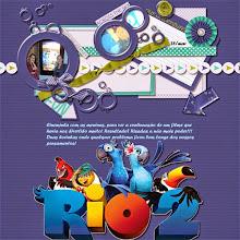 """Photo: Overseas by Just Because Studio Imagem """"Rio 2"""" extraída do site www.adorocinema.com Font Forte PS CS5"""
