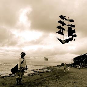 kite by Tombak Matahari - People Portraits of Men