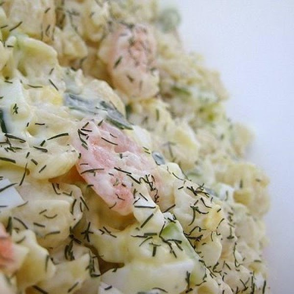 Shrimp Pasta Salad With Dill Recipe