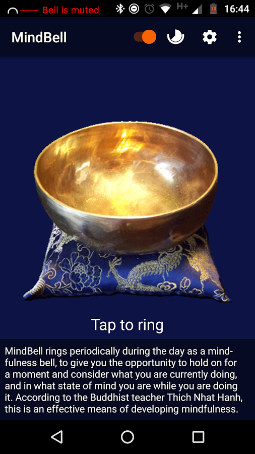 MindBell (& Meditation Timer)- screenshot