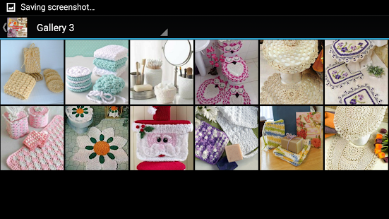 Crochet Bath Set Decorations- screenshot thumbnail