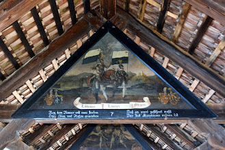 Photo: The painting inside Chapel Bridge