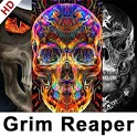 Grim Reaper Wallpapers HD Skull Wallpaper icon