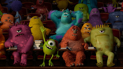 Photo: ?MONSTERS UNIVERSITY?  (L-R) MIKE and SULLEY amongst other monsters. ?2013 Disney?Pixar. All Rights Reserved.