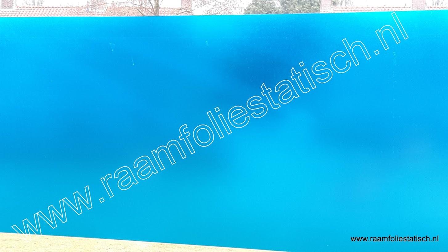 Raamfolie plakfolie transparant blauw kopen?
