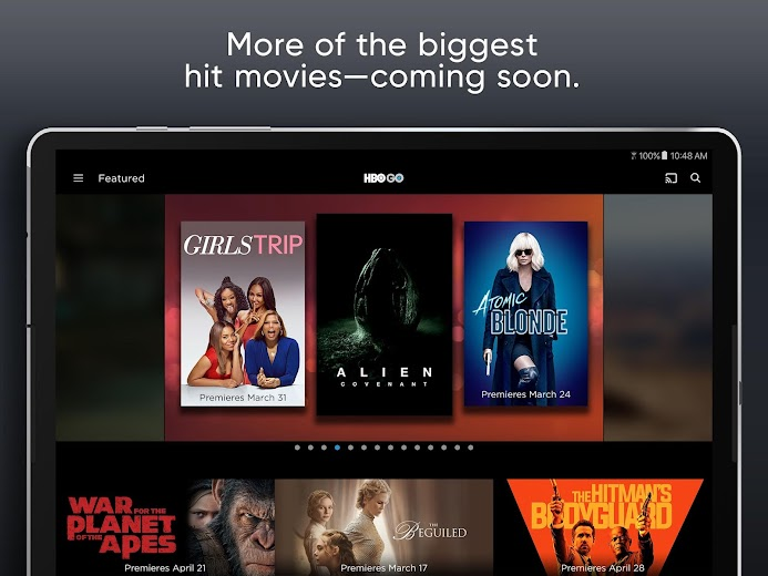 Screenshot 8 for HBO GO's Android app'