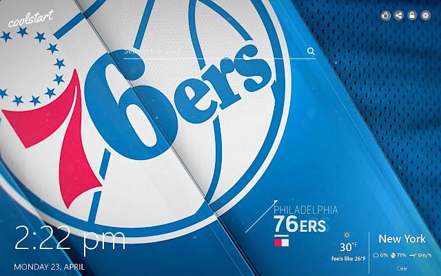 Philadelphia 76ers HD Wallpapers NBA Theme