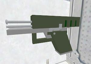 Empty pistol