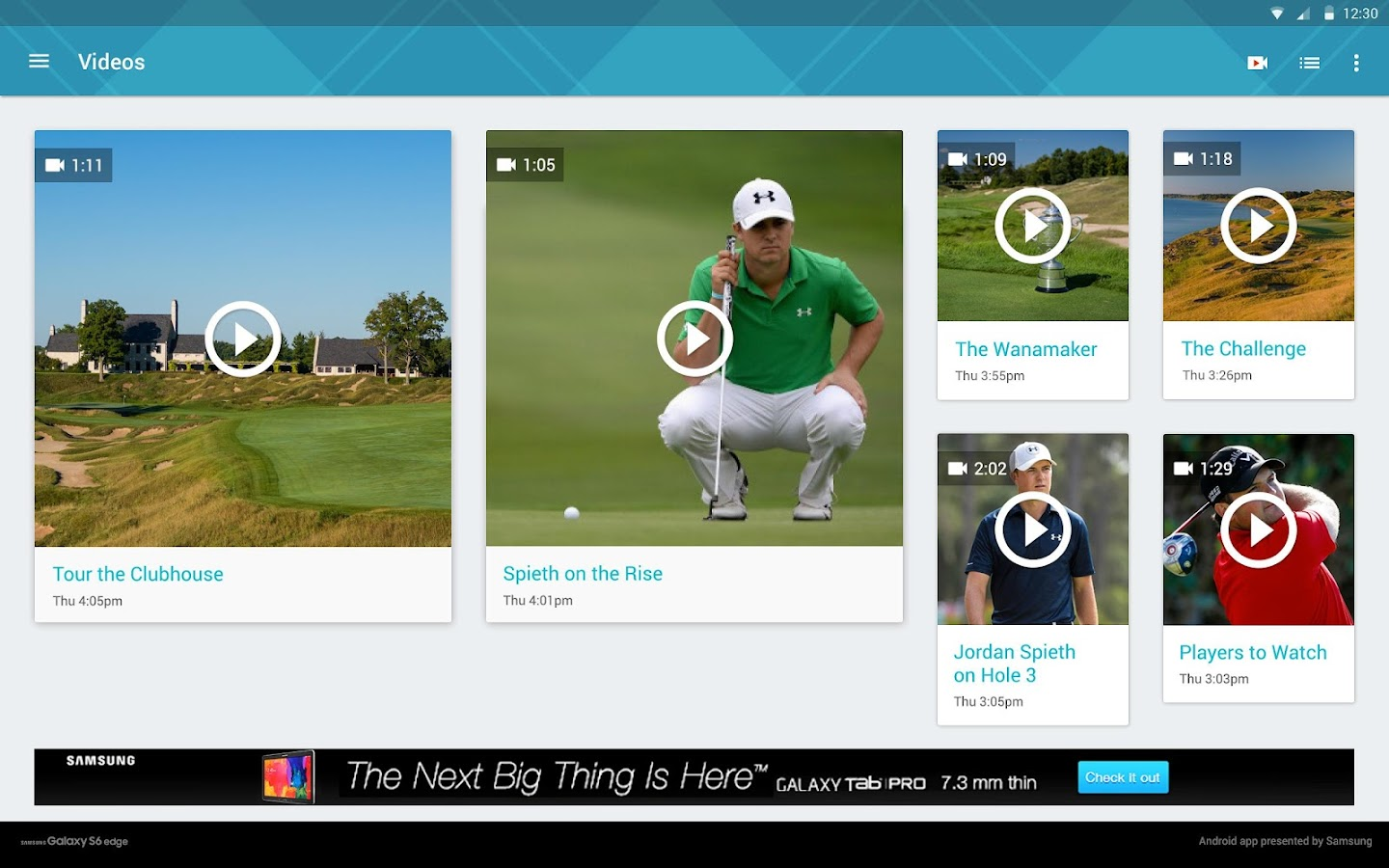 2015 PGA Championship- screenshot
